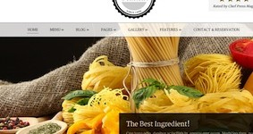 Responsive Restaurant Wordpress Theme - Delicieux