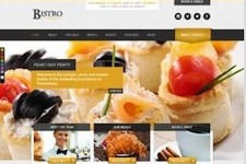 Responsive Restaurant Wordpress Theme- Bistro