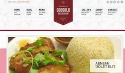 Responsive Restaurant Wordpress Theme - Goodold