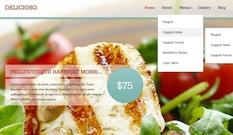 Restaurant Wordpress Theme - Delicioso