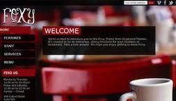 Responsive Restaurant Wordpress Theme - Foxy