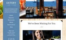Responsive Restaurant Wordpress Theme - Eatery