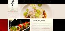 Responsive Restaurant Wordpress Theme - Taste of Japan