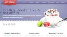 Restaurant Wordpress Theme - Coffee Lounge