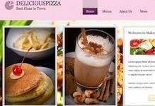 Restaurant Wordpress Theme - Delicious