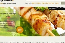 Restaurant Wordpress Theme - Feast