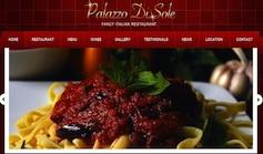 Restaurant Wordpress Theme - Palazzo Di Sole