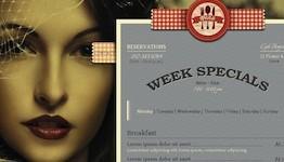Restaurant Wordpress Theme - Bonjour