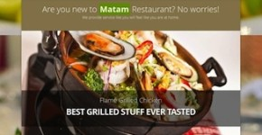 Responsive Restaurant Wordpress Theme - Mataam