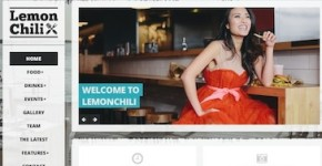 Responsive Restaurant Wordpress Theme - LemonChili