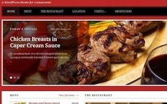 Restaurant Wordpress Theme - Lucullan